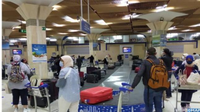 أزيد من 29 ألف مسافر تنقلوا عبر مطار أكادير ـ المسيرة في أكتوبر 2020 (المكتب الوطني للمطارات )