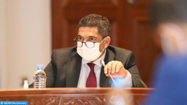 وزير التعليم يتفقد ورش بناء ثانوية الأرز الإعدادية بتونفيت باقليم ميدلت