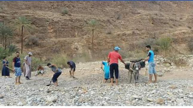 ساكنة صداص بإقليم تارودانت محاصرة والجهات المسؤولة لم يصلها نداء الاستغاتة بعد…