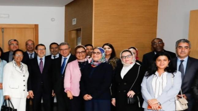 تنصيب أعضاء اللجنة الوطنية للتكفل بالنساء ضحايا العنف .