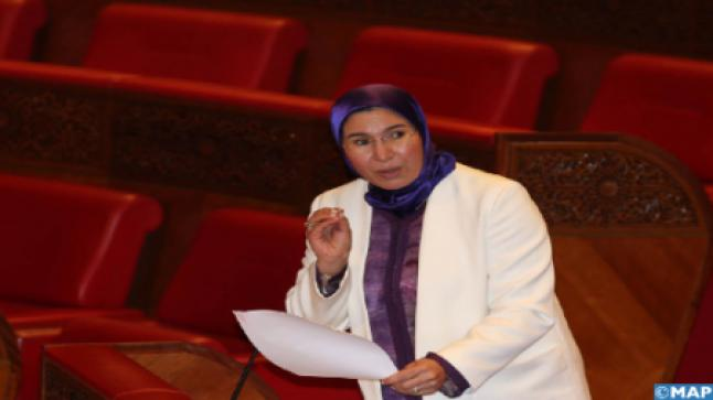 السيدة الوفي تؤكد على أهمية تعزيز ارتباط الكفاءات المغربية بالخارج بوطنهم الأم عبر فتح مجال الاستثمار أمامهم