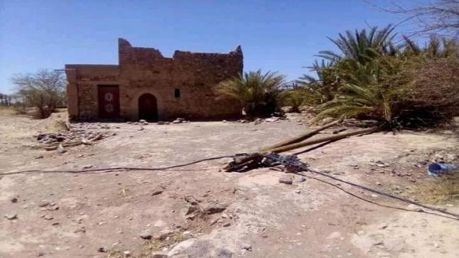 دوار امغاتن بجماعة تليت بإقليم طاطا يحتضر في صمت