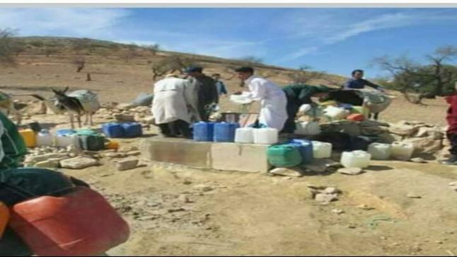 غياب الماء الصالح للشرب ب دوار الفيض التابع لجماعة بوحمام- اقليم سيدي بنور