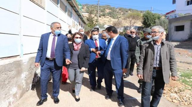 لقاء جهوي مع ممثلة منظمة اليونيسيف بالمغرب، يثمر توقيع برنامج العمل لسنة 2021 بتغازوت