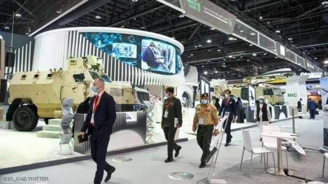 """حوالي 5 مليار دولار قيمة صفقات معرضي الدفاع """"آيدكس"""" و""""نافدكس"""" 2021 في ثلاثة أيام بي ابوظبي"""