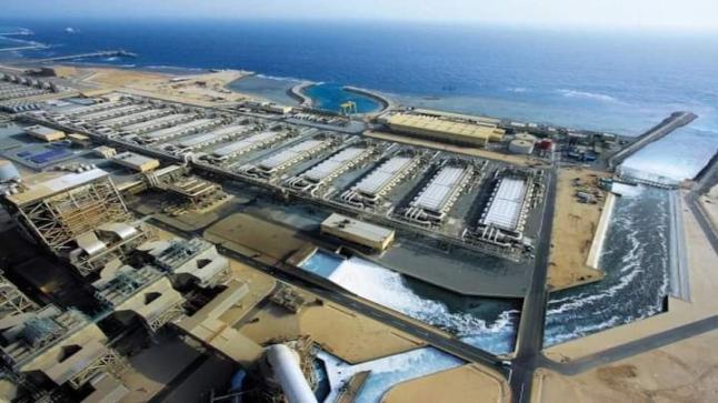 المحطة المتنقلة لتحلية مياه البحر بطرفاية حل ناجع للاستجابة للطلب المتزايد على الماء