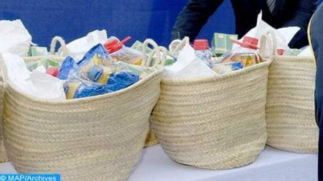 أزيلال: توزيع مساعدات غذائية على عدد من الأسر المعوزة بمناسبة شهر رمضان