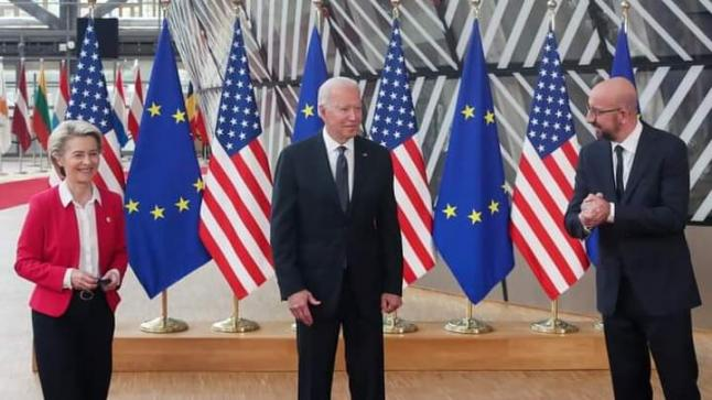 ميشيل: الاتحاد الأوروبي والولايات المتحدة اتفقا على تفعيل الترويج لقيمهما في العالم
