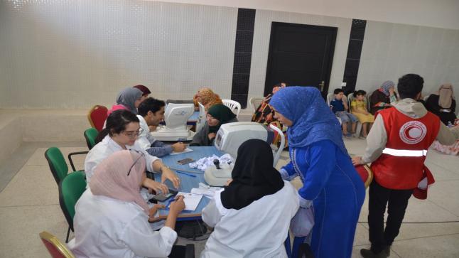 أزيد من 4853 مستفيد من قافلة طبية متعددة التخصصات بعمالة إنزكان ايت ملول.