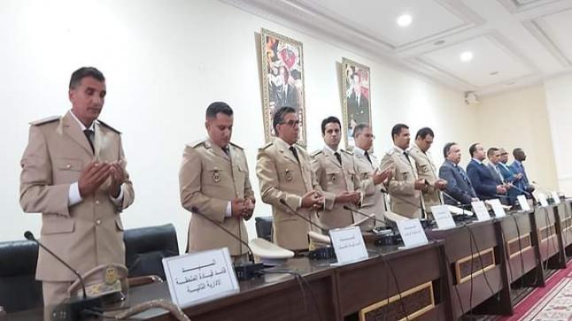 تنصيب عدد من رجال السلطة الجدد بإقليم الصويرة.
