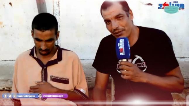 """تدهور حالة """"محمد الملقب بالقطاع"""" الذي أصيب على إثر هجوم أنصار حزب الحمامة على مقر حزب المصباح بللاميمونة يستدعي المساعدة"""