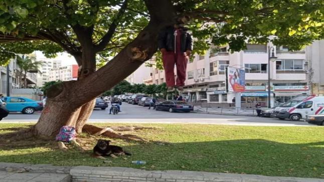 طنجة.. انتحار شخص شنقا بجوار مسجد بدر