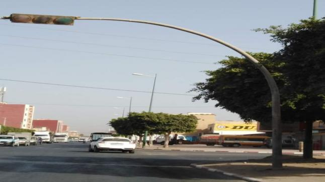 غياب الإصلاحات يتسبب في حادثة سير مثيرة (طريق بيوكرى) بايت ملول