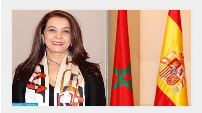 تدخل المغرب في الكرارات استهدف تأمين الحركة التجارية بمنطقة استراتيجية ليس بين المغرب وموريتانيا فحسب وإنما بين أوروبا وإفريقيا ( سفيرة المغرب بإسبانيا )