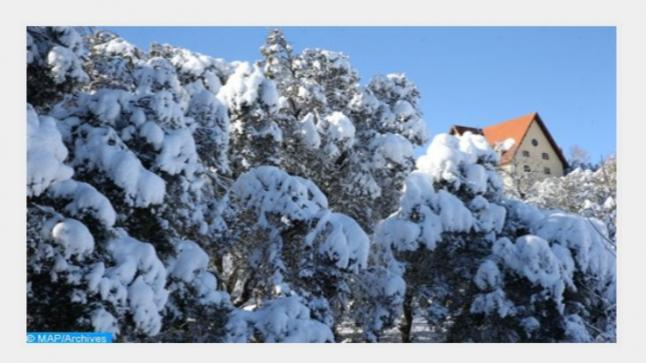 تساقطات ثلجية وطقس بارد وزخات رعدية قوية من الأربعاء إلى السبت بعدد من مناطق المملكة (نشرة خاصة)