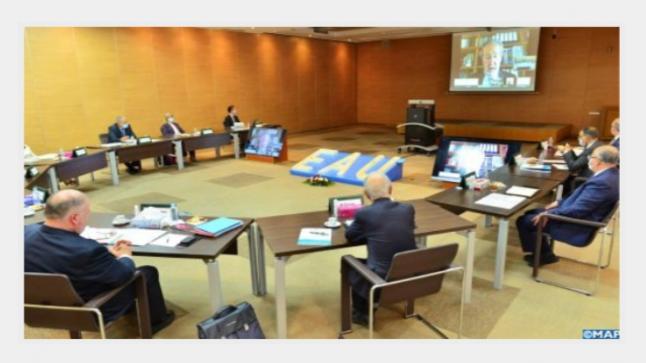 اجتماع اللجنة الدائمة لجائزة الحسن الثاني العالمية الكبرى للماء بالرباط