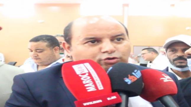 كلمة رشيد المعيفي بعد تعيينه رئيسا للمجلس الجماعي لانزكان