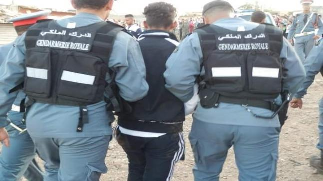 الدرك الملكي يلقي القبض على ثلاثة عصابات في ظرف وجيز بجماعة دار ولد زيدوح إقليم الفقيه بن صالح