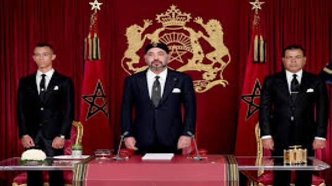 بمناسبة ثورة الملك والشعب جلالة الملك يوجه غدا الثلاثاء خطابا ساميا إلى الأمة .