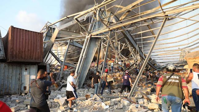 50 قتيلاً و2750 جريحاً الحصيلة الأولية لإنفجار بيروت